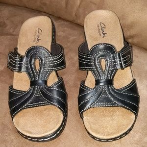 Clarks black Sandals